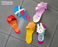 自制小鞋子