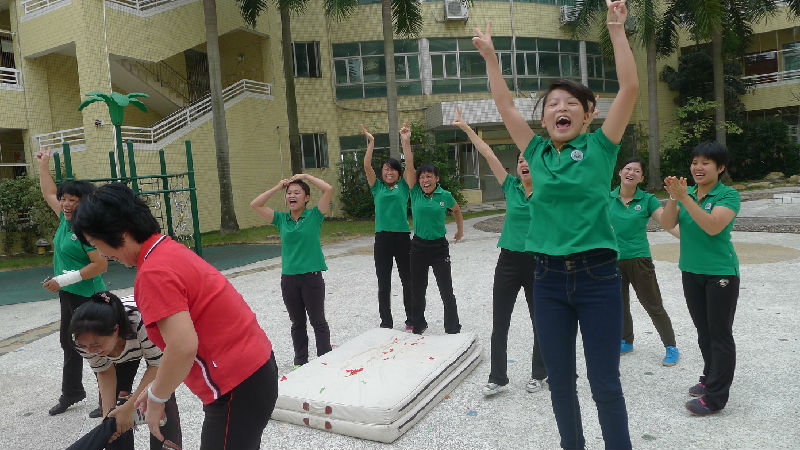 [乐天幼]中山市乐天艺术幼儿园教师趣味运动会